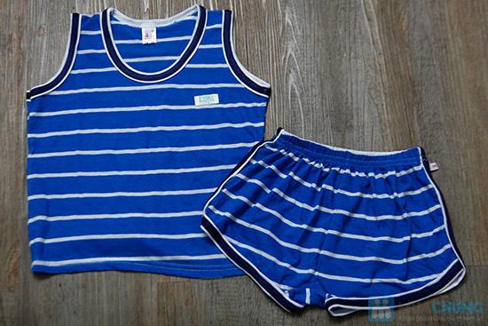 Combo 2 bộ đồ thun cho bé trai (5 tháng - 1 tuổi) - 2