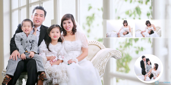 gói chụp ảnh gia dình vip tại melia wedding studio - 3