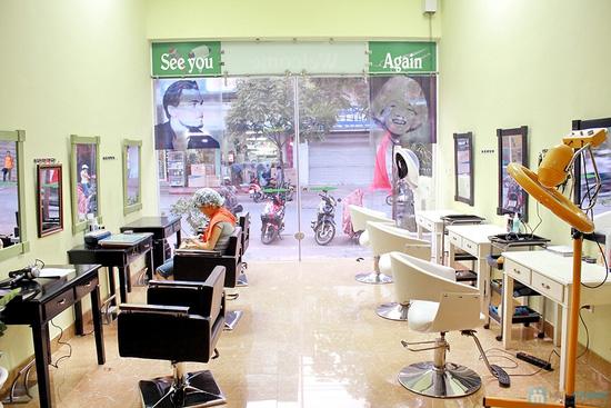 Voucher sử dụng dịch vụ làm tóc tại Salon Franky - Chỉ 70.000đ - 5