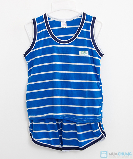 Combo 2 bộ đồ thun cho bé trai (5 tháng - 1 tuổi) - 6