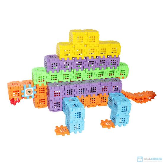 Bộ 3 sp: Hình vuông kỳ diệu 88 chi tiết+ vòng quay kì diệu+ hiếu học thường - 15