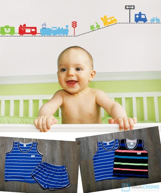 Combo 2 bộ đồ thun cho bé trai (5 tháng - 1 tuổi) - 7
