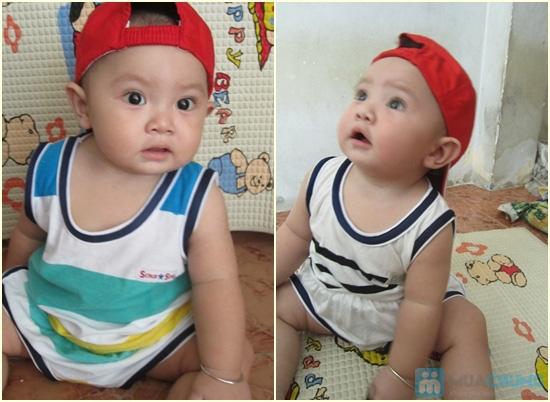Combo 2 bộ đồ thun cho bé trai (5 tháng - 1 tuổi) - 1