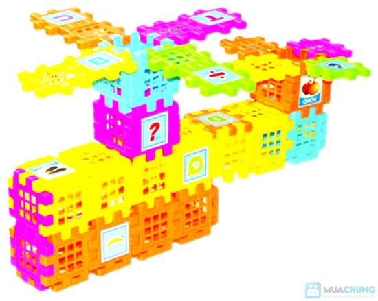 Bộ 3 sp: Hình vuông kỳ diệu 88 chi tiết+ vòng quay kì diệu+ hiếu học thường - 10