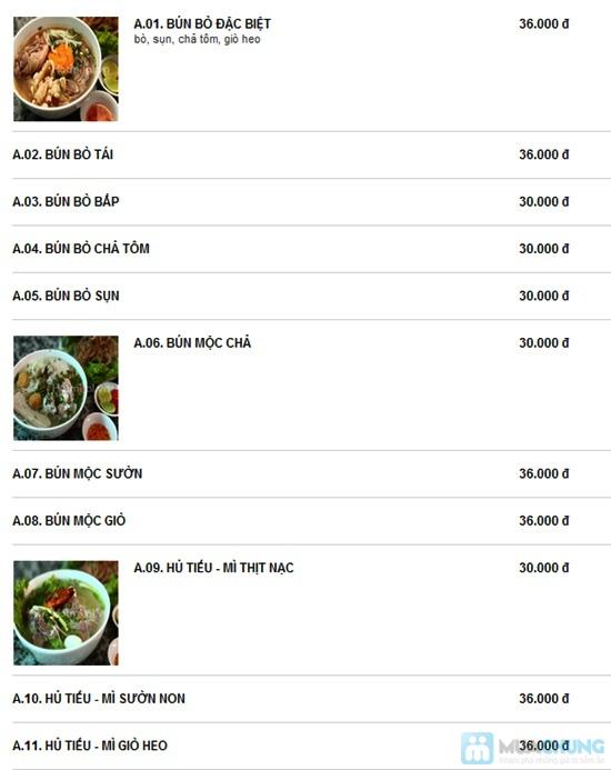 Set ăn cho 2 người tại Quán Bún Ngon - Chỉ 68.000đ - 19
