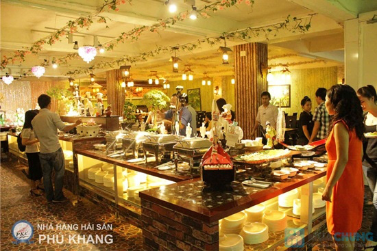 Buffet tối thứ 3 đến Chủ nhật tại nhà hàng hải sản Phú Khang - Chỉ 199.000đ/vé - 4
