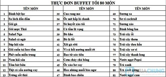 Buffet tối thứ 3 đến Chủ nhật tại nhà hàng hải sản Phú Khang - Chỉ 199.000đ/vé - 5