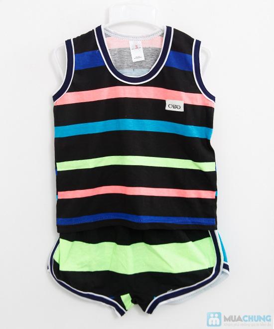 Combo 2 bộ đồ thun cho bé trai (5 tháng - 1 tuổi) - 5