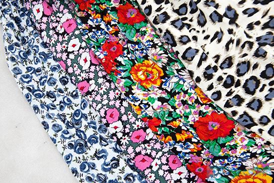 Đầm hoa vải lanh cổ sơ mi - 7
