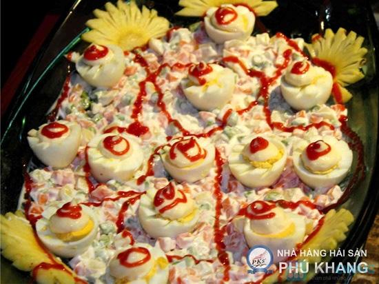 Buffet tối thứ 3 đến Chủ nhật tại nhà hàng hải sản Phú Khang - Chỉ 199.000đ/vé - 1