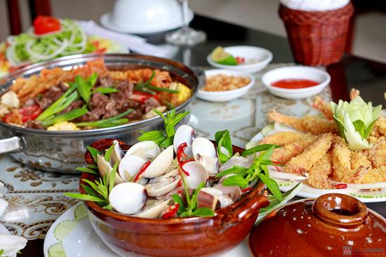 Set ăn menu Hải sản và Lẩu bò đặc biệt tại Nhà hàng Ngọc Sương - Chỉ 298.000đ - 11
