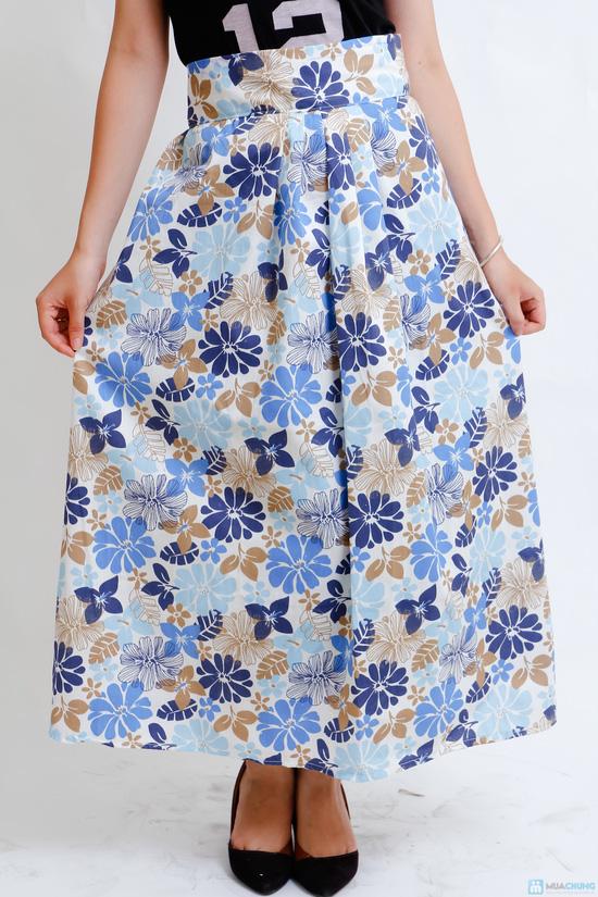 váy chống nắng vải thô cao cấp - 3