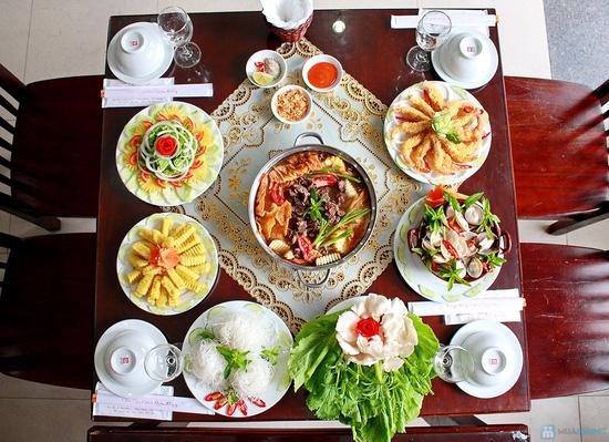 Set ăn menu Hải sản và Lẩu bò đặc biệt tại Nhà hàng Ngọc Sương - Chỉ 298.000đ - 8