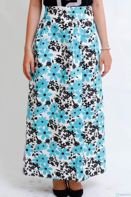 váy chống nắng vải thô cao cấp - 1