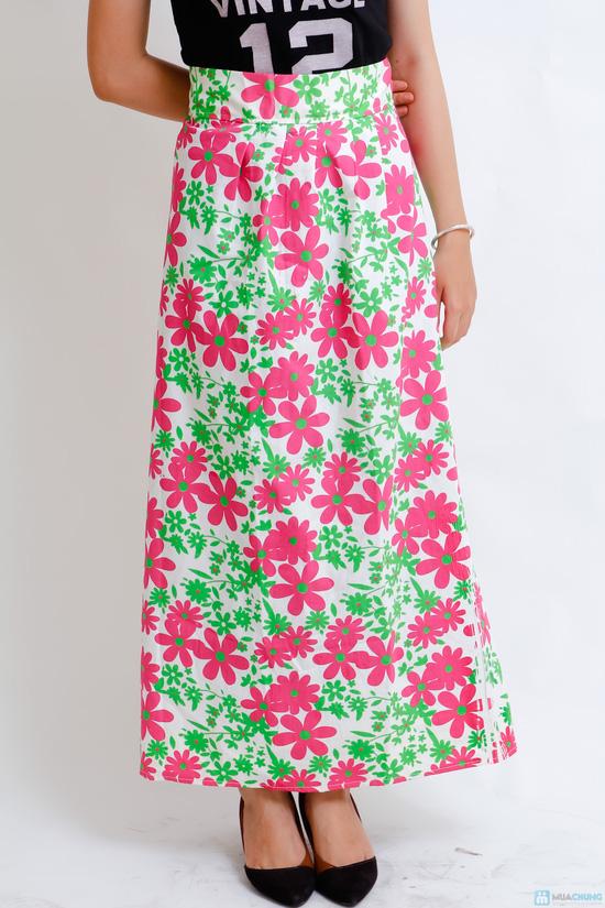 váy chống nắng vải thô cao cấp - 7