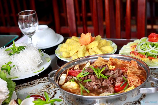 Set ăn menu Hải sản và Lẩu bò đặc biệt tại Nhà hàng Ngọc Sương - Chỉ 298.000đ - 12