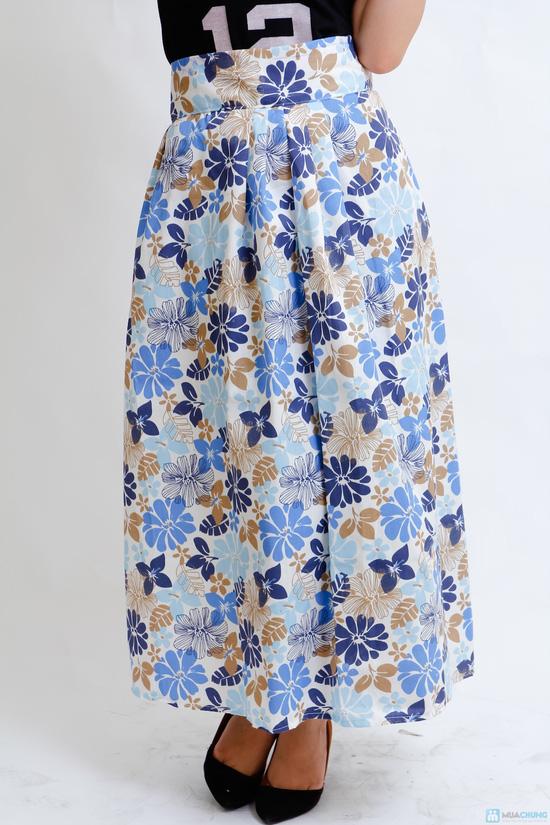 váy chống nắng vải thô cao cấp - 4
