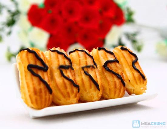 Bánh su kem nàng tiên (2 hộp 20 bánh) tại Rose Blossom Bakery - Chỉ 45.000đ - 2