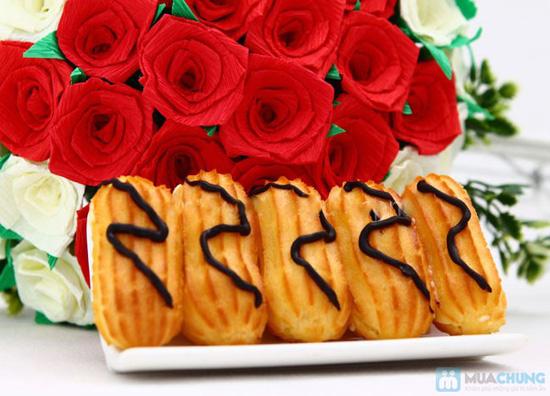 Bánh su kem nàng tiên (2 hộp 20 bánh) tại Rose Blossom Bakery - Chỉ 45.000đ - 5