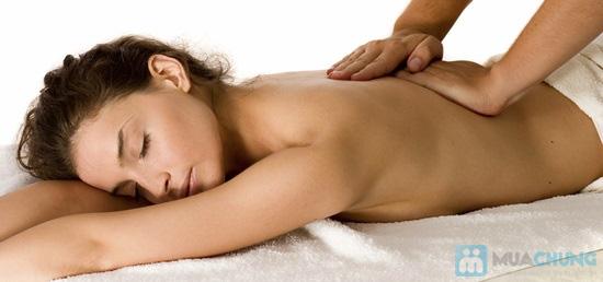 Tắm mịn bằng cám gạo huyết rồng và sữa ong chúa kết hợp massage toàn thân bằng đá bazan tại Dáng Tiên spa - 3