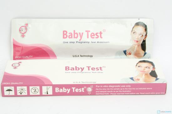 Combo 2 bút thử tahi + 3 que thử thai Baby Test - 7