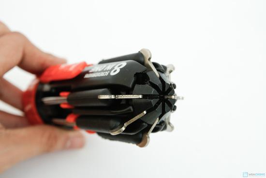 đèn pin siêu sáng và tua vít đa năng trong 1 - 6