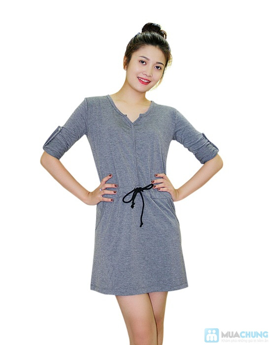 Đầm thun thắt eo cực nữ tính - Chỉ 130.000đ/ 01 chiếc - 3
