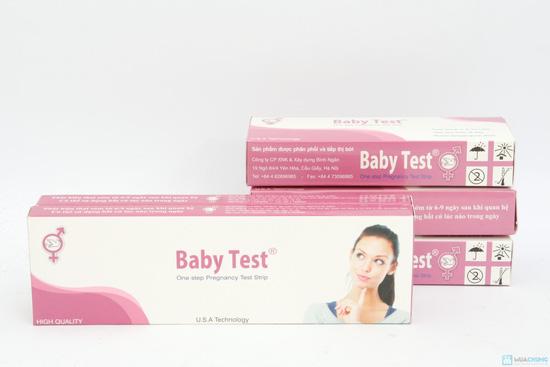 Combo 2 bút thử tahi + 3 que thử thai Baby Test - 1