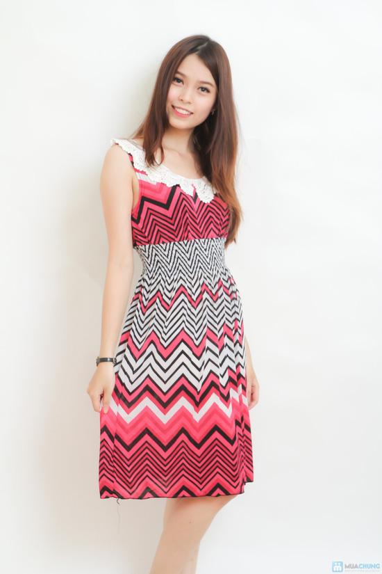 combo 02 váy cổ sen họa tiết độc đáo - 4