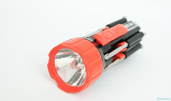 đèn pin siêu sáng và tua vít đa năng trong 1 - 2