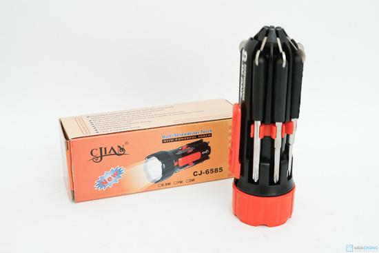 đèn pin siêu sáng và tua vít đa năng trong 1 - 1