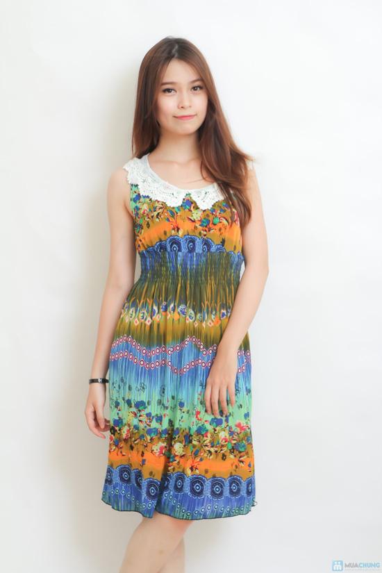combo 02 váy cổ sen họa tiết độc đáo - 8