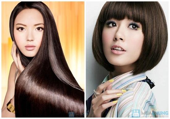 Phiếu giảm giá 1 trong 3 DV: Uốn, Duỗi, Nhuộm Viện tạo mẫu tóc Giai Hân - Chỉ 20.000đ được phiếu trị giá 100.000đ - 2