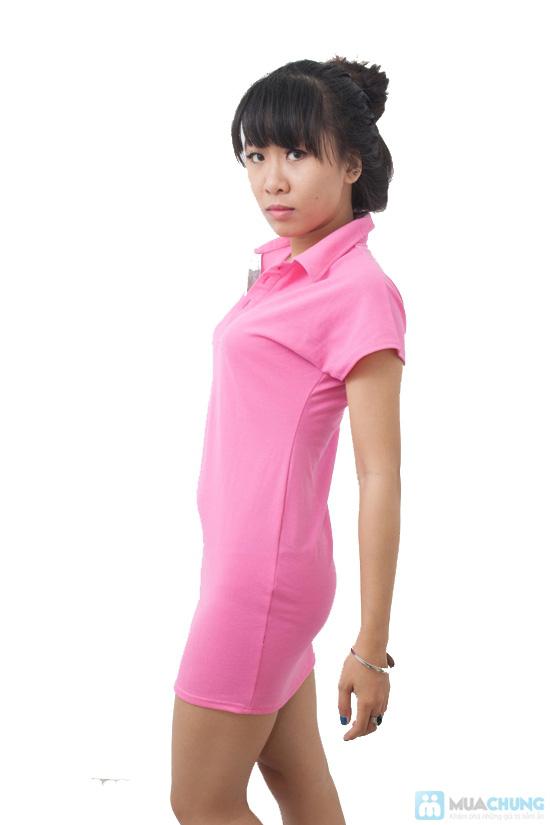 Đầm Hồng Thun Cá Sấu, kiểu dáng dễ thương - Chỉ 99.000đ/ 1 chiếc - 5