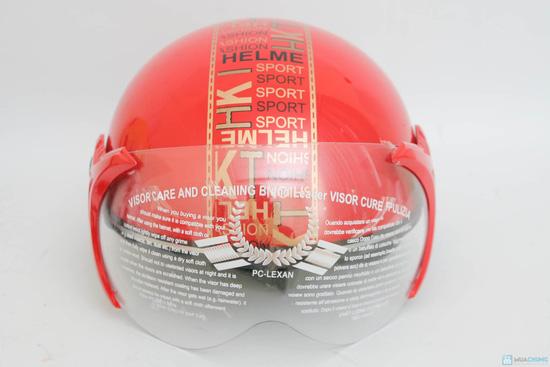 An toàn cùng Mũ bảo hiểm có kính cho người lớn - 7