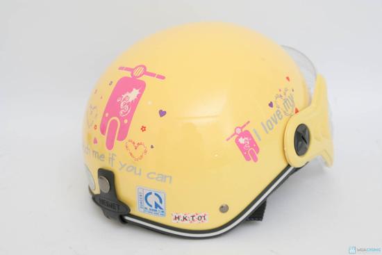 An toàn cùng Mũ bảo hiểm có kính cho người lớn - 5