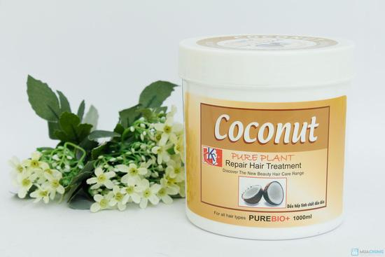 Dầu hấp tinh chất dầu dừa - 4