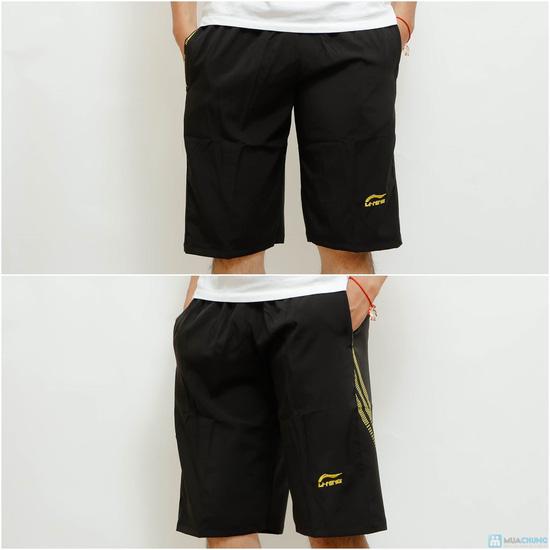 Combo 2 quần lửng thể thao cho nam chất lạnh - 3