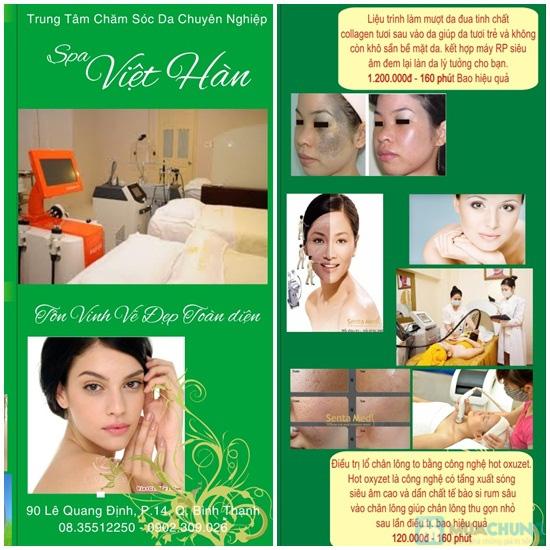 Trọn gói triệt lông - Bảo hành 7 năm tại Spa Việt Hàn - Chỉ 799.000đ - 2