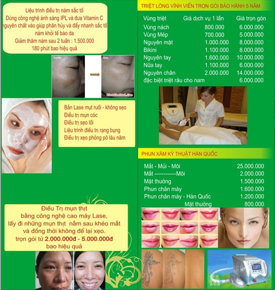 Trọn gói triệt lông - Bảo hành 7 năm tại Spa Việt Hàn - Chỉ 799.000đ - 3