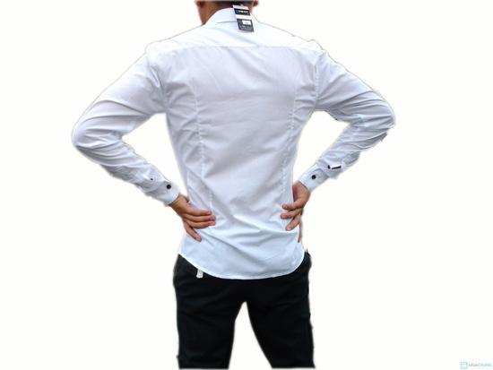 Áo sơ mi nam body phong cách Hàn Quốc - 3