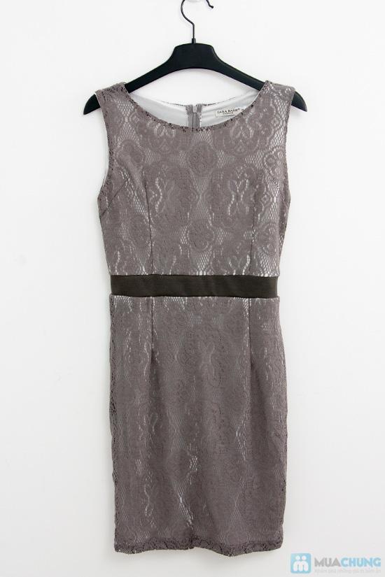 Đầm ren bo eo - 2