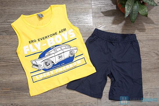 Combo 02 bộ đồ thun cho bé trai - 7