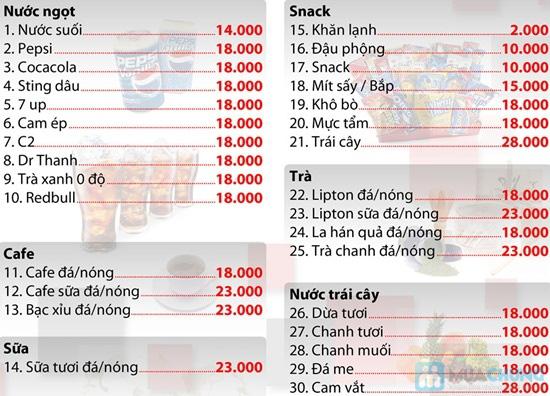 Phiếu ăn uống + xem phim tại Cafe 3D Pumpkin - Chỉ với 69.000đ được phiếu 150.000đ - 2