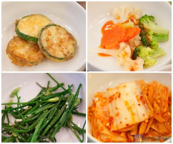 Set ăn: thịt ba chỉ nướng + kim bắp + 6 món phụ cho 2 người tại nhà hàng Sườn Nướng Hàn Quốc - Chỉ 138.000đ - 7