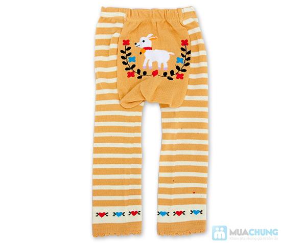 Combo 2 quần len hình thú cho bé - 5