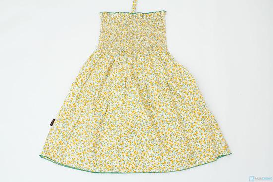 Váy thô hoa nhí đi biển cho bé - 3
