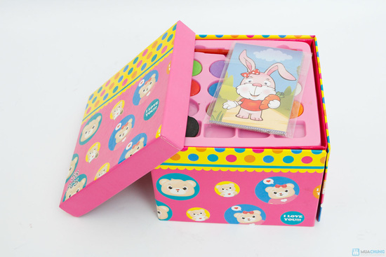 Bộ hộp màu gấp - 1
