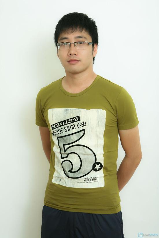 Áo Phông Nam Cotton lạnh - 11
