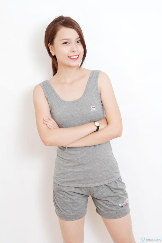 Combo 02 bộ mặc nhà mát mẻ cho bạn gái - 6